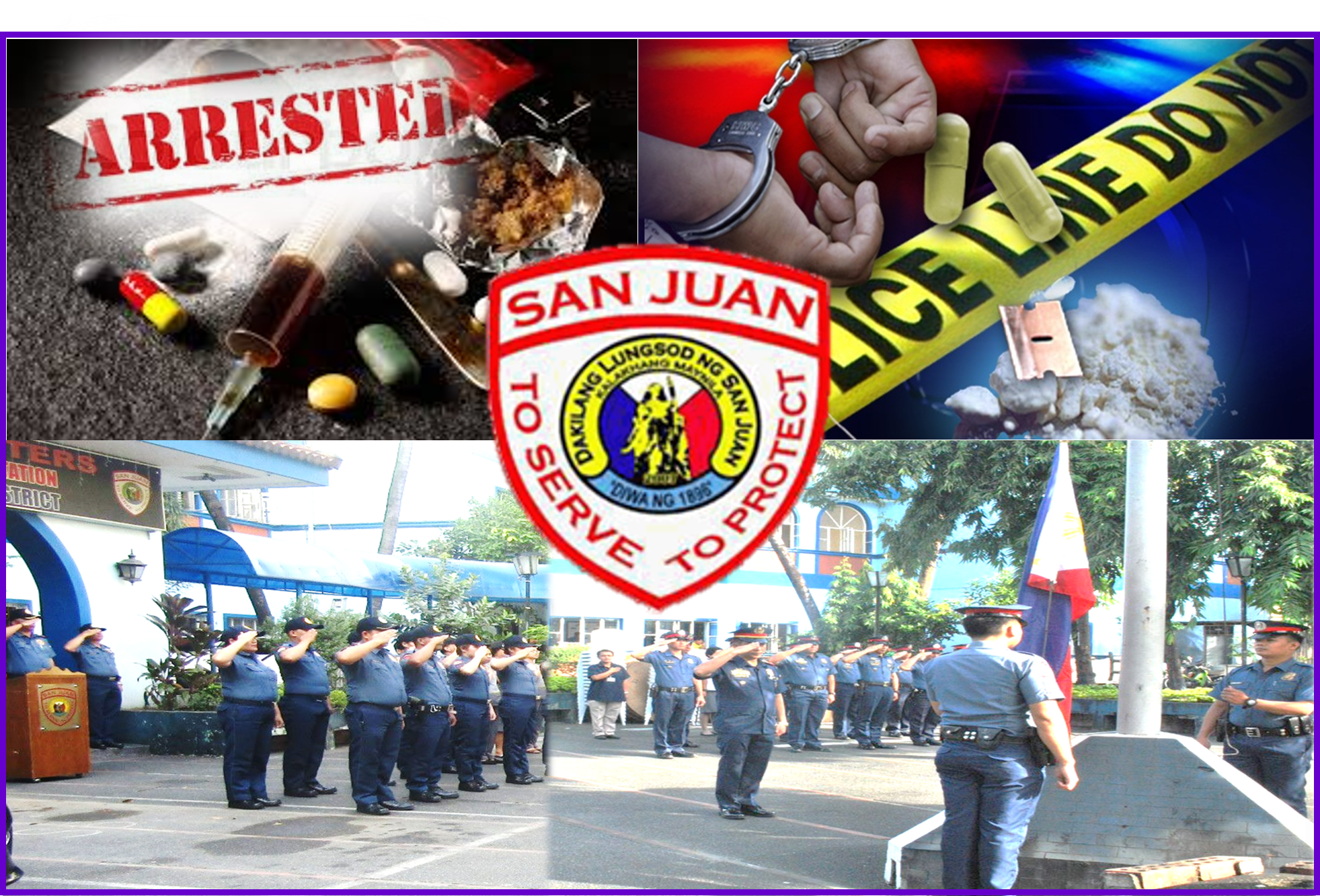SAN JUAN POLICE BUSTED 21-YEAR OLD FEMALE DRUG DEALER AND STUDENT COURIER