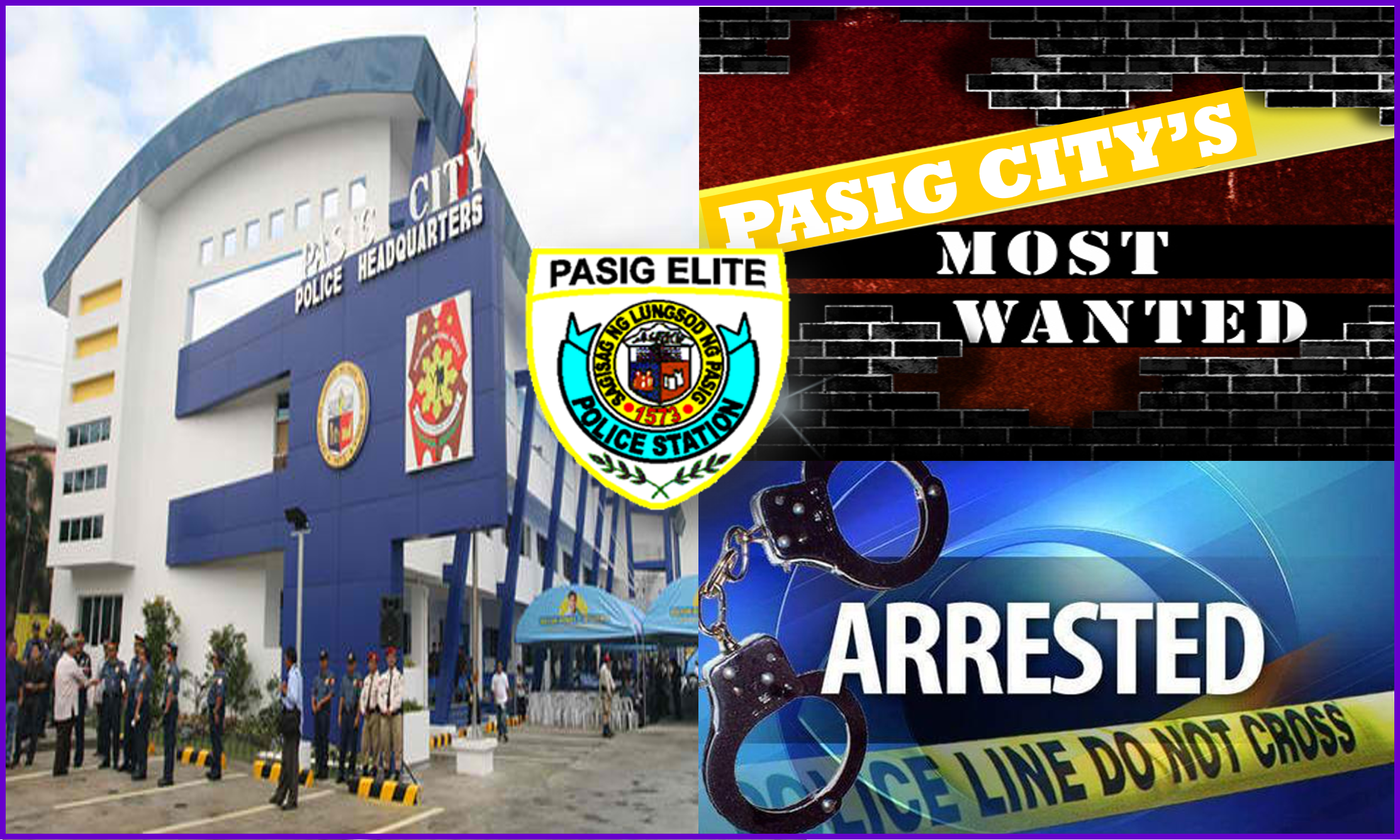 Pasig City's No. 9 in the Top 10 Most Wanted Persons Arrested