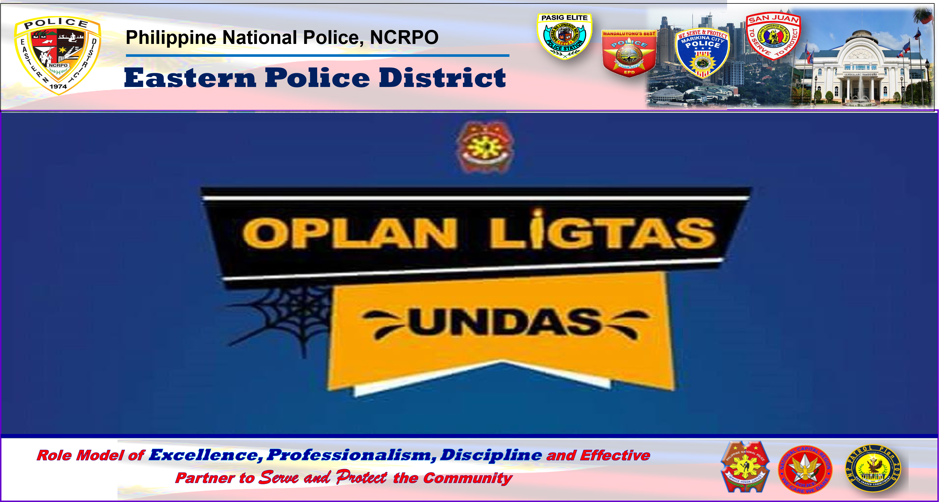 "Eastern Police District Ensures ""Ligtas Undas 2018"""