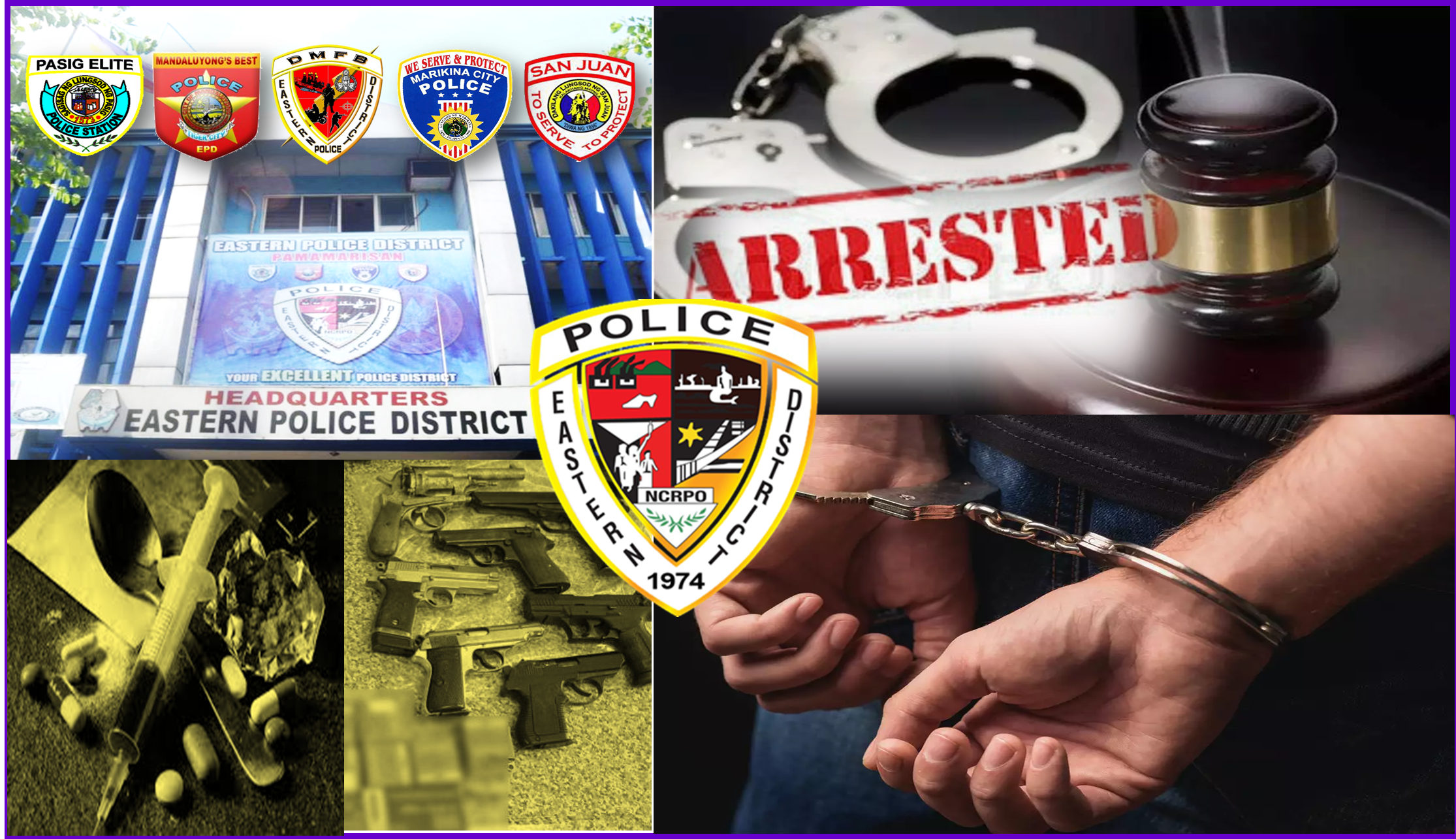 GUN RUNNING SUSPECT WAS ARRESTED BY PASIG CITY POLICE AND CIDG EASTERN NCR