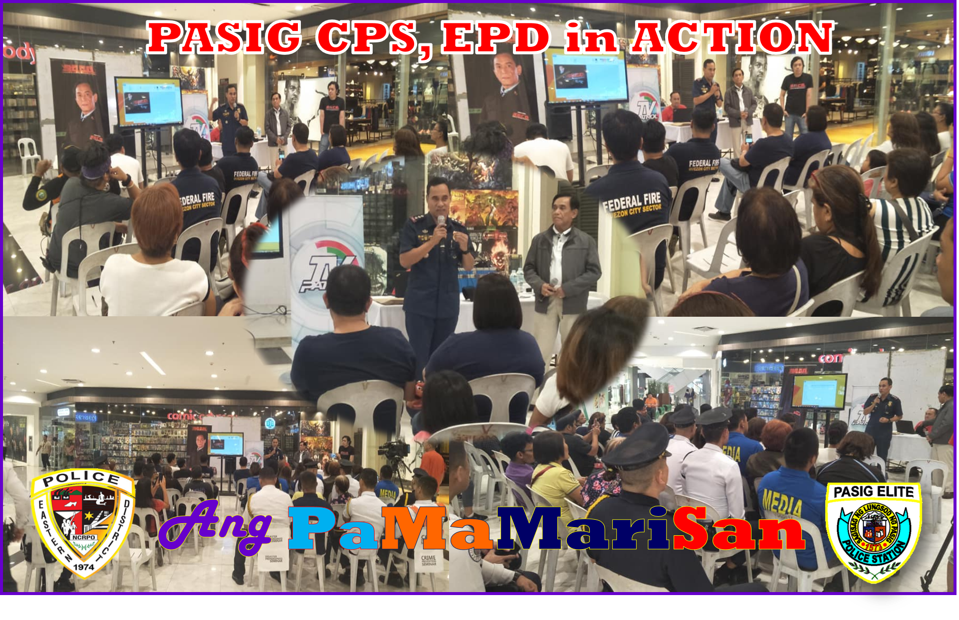 Pasig City Police conducted Anti-Criminality Awareness Lectures