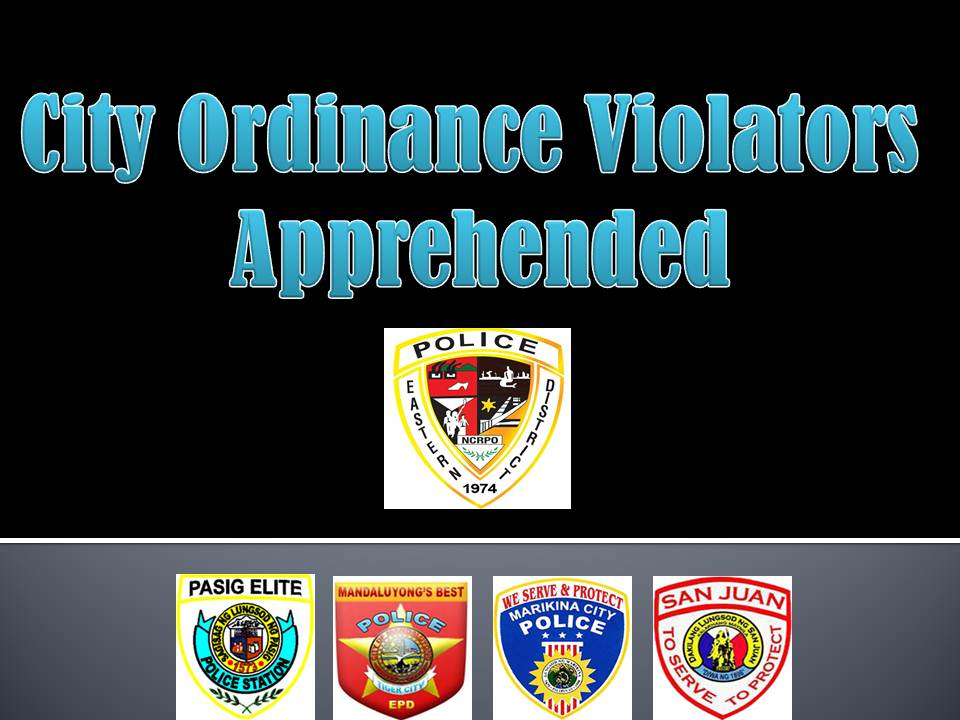 EPD Apprehended 1,122 City Ordinance Violators within 24 Hours