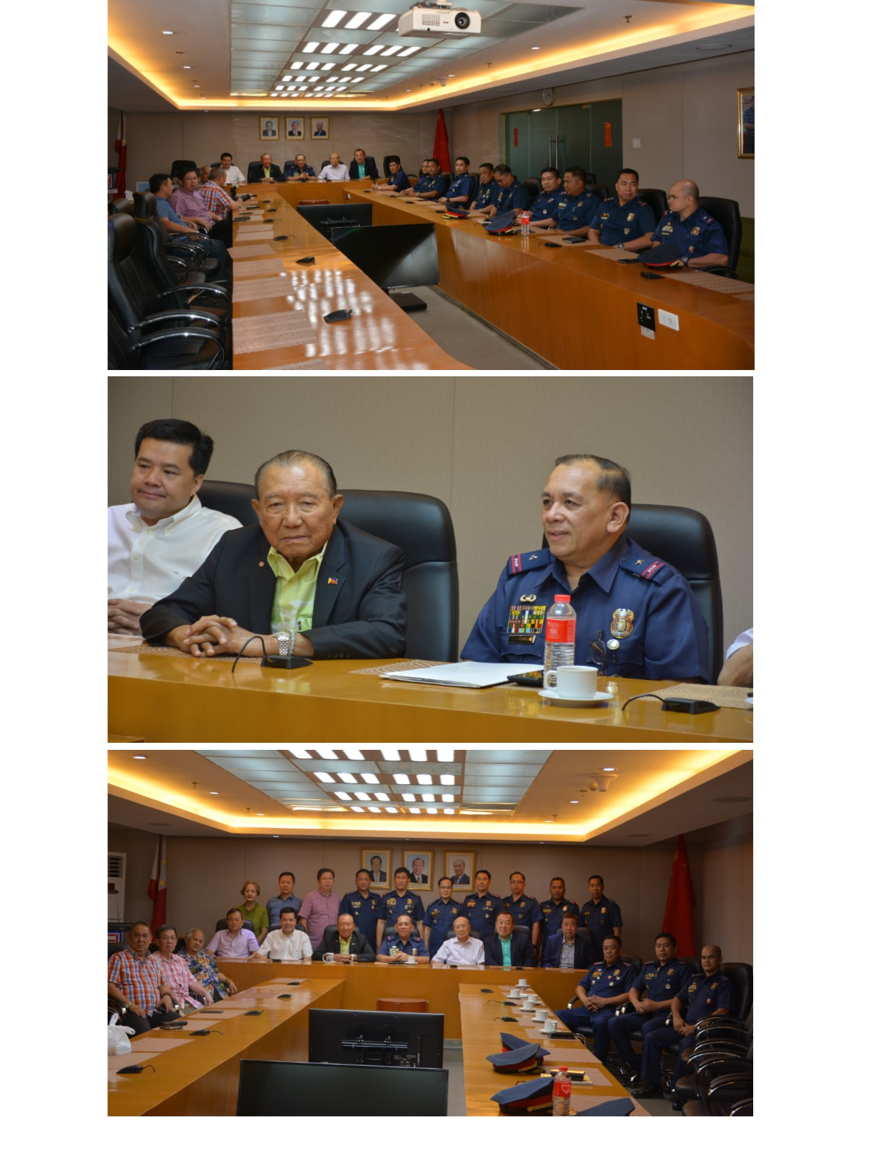 Courtesy Call of PBGEN CHRISTOPHER E TAMBUNGAN to The Philippine Chinese Charitable Association Inc. (PCCAI)