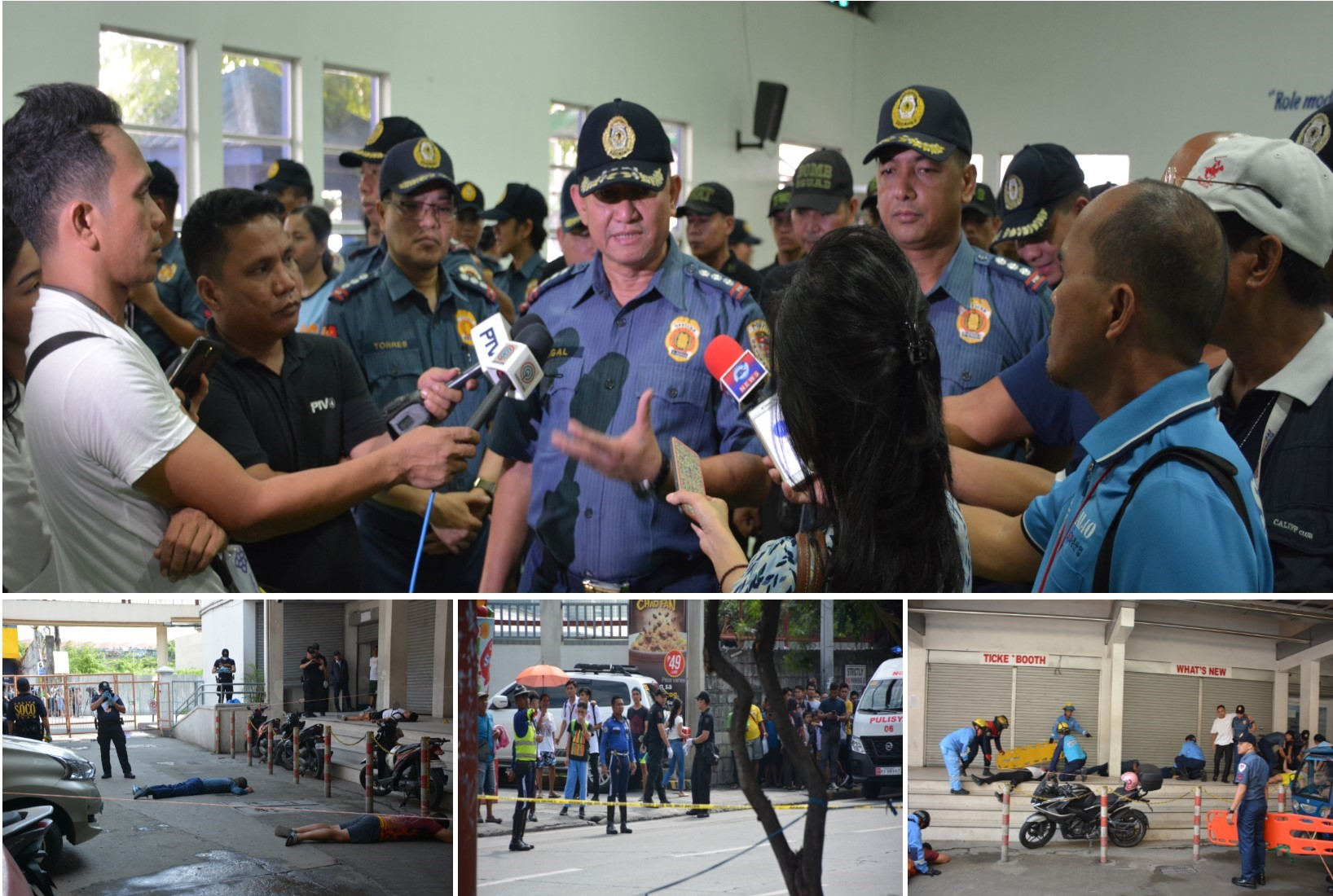 EPD CONDUCTS SIMULATION EXERCISES ON SUICIDE BOMBING INCIDENT