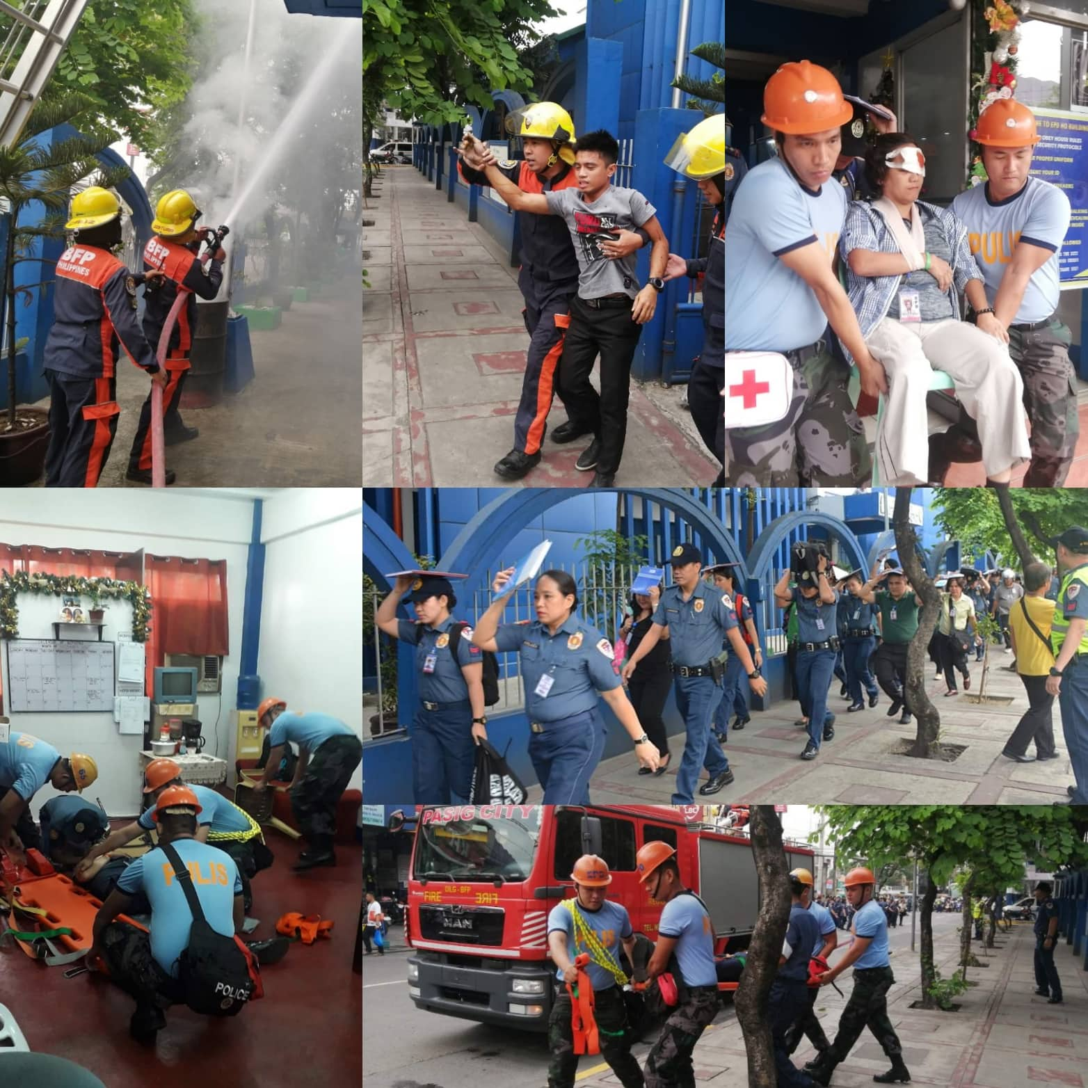 EPD Conducts 4th Quarter National Simultaneous Earthquake Drill