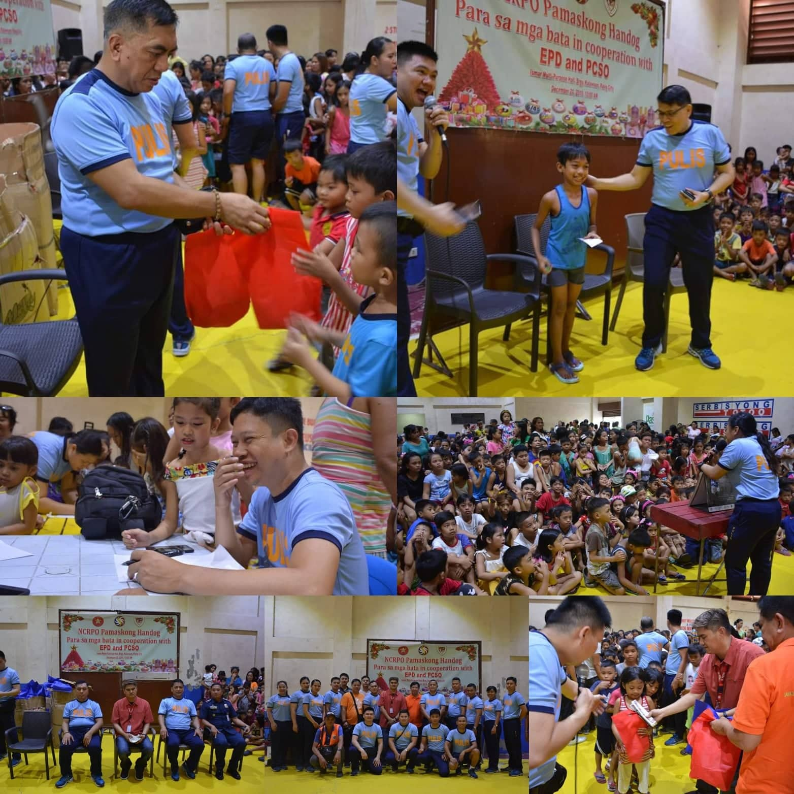 EASTERN POLICE DISTRICT CONDUCTS GIFT-GIVING ACTIVITY AT BRGY. KALAWAAN, PASIG CITY
