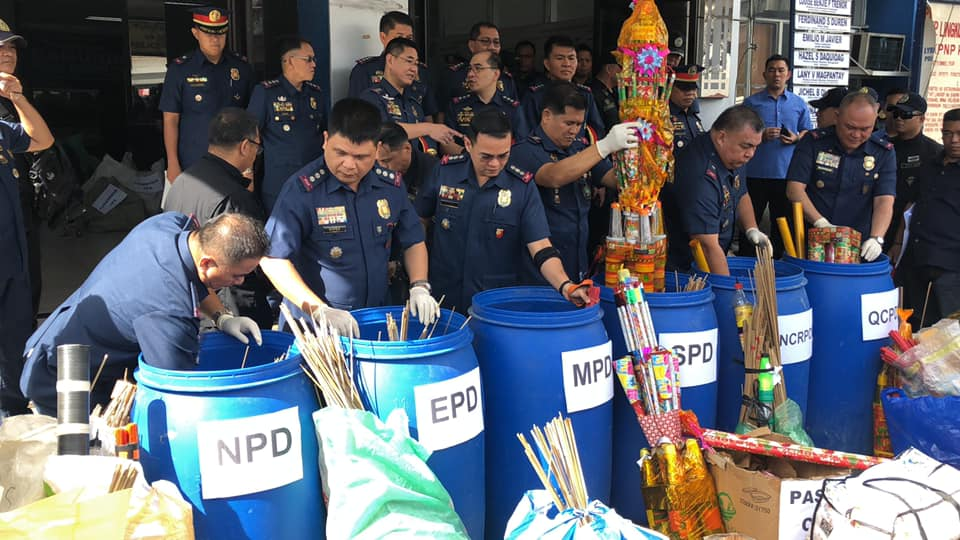 Press Briefing on the Confiscation of Prohibited Firecrackers and Pyrotechnic Devices in relation to EO 28