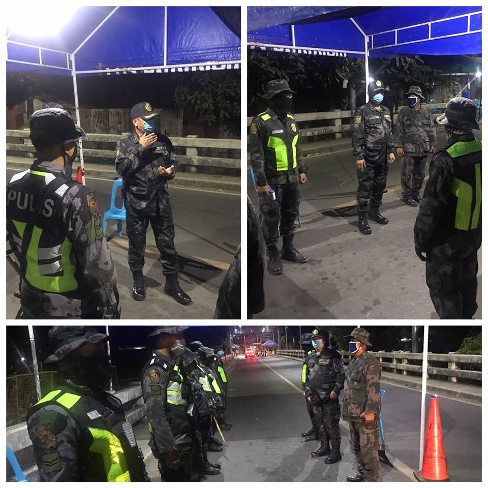 Inspection of PCOL ORLANDO YEBRA JR., DDA,EPD at the  QCP of Marikina City